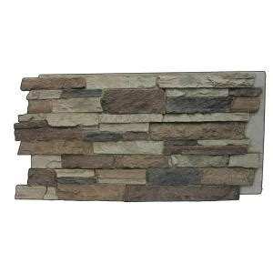 superior building supplies rustic lodge 24 3 4 in x 48 3