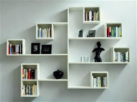 Rak Buku Gantung Aluminium 80 desain rak buku minimalis unik desainrumahnya