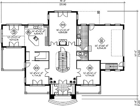 great design with grand staircase 7459rd 1st floor grand staircase floor plans grand staircase 80426pm 2nd