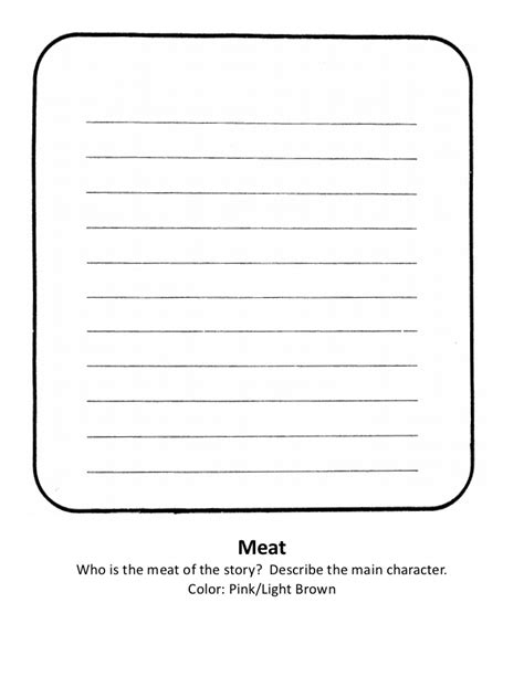 sandwich book report template sandwich book report rubric template birthdayessay x fc2
