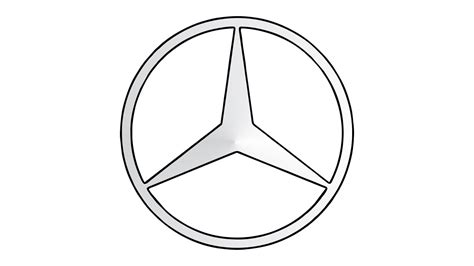 mercedes logos how to draw the mercedes logo symbol