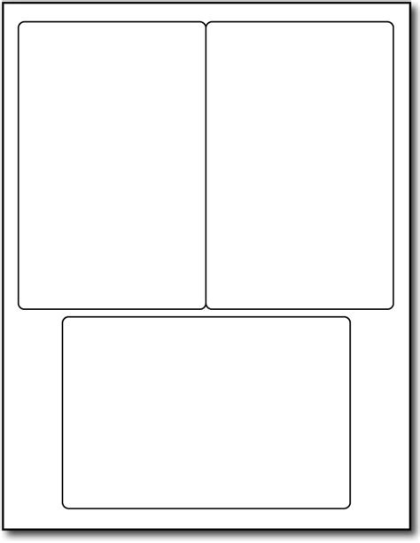 2 x 4 labels template 3up 4 quot x 6 quot labels 1000 sheets 3000 labels
