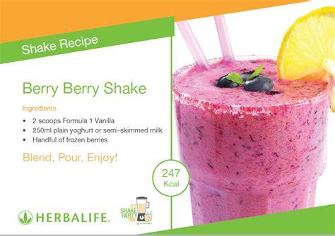 Shake Berry Milk Shake Herballife Asli Herbal Shake herbalife shake recipes order herbalife