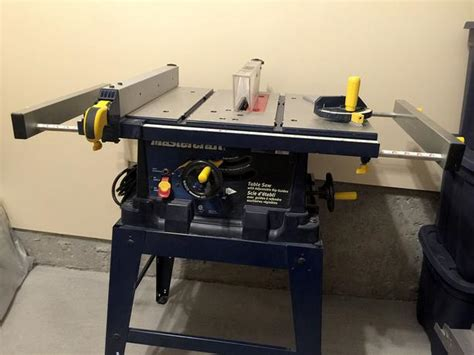 mastercraft 10 bench saw mastercraft 10 quot table saw with stand gloucester ottawa