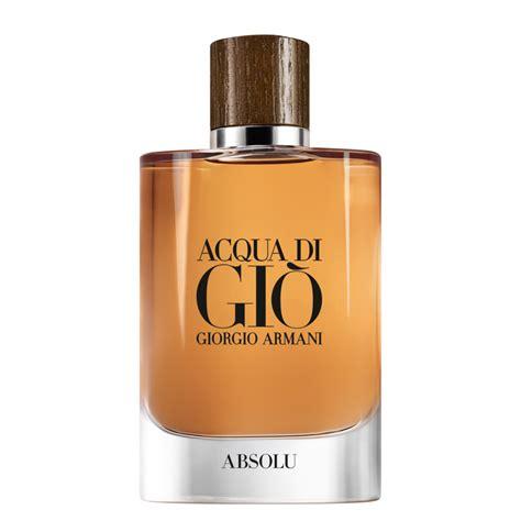 Parfum Acqua Di Gio Armani acqua di gio absolu giorgio armani colonie un nou parfum