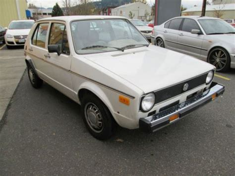 volkswagen rabbit custom purchase used 1979 volkswagen rabbit custom hatchback 4