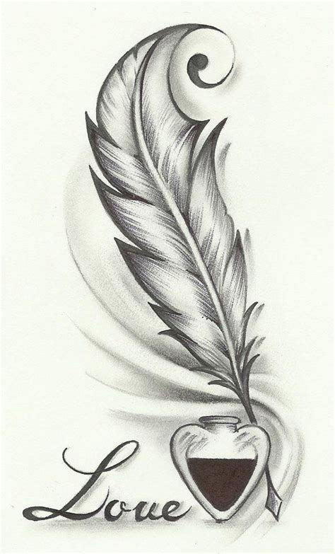 pen and ink tattoo tatto ideas 2017 i like the idea of a feather pen with