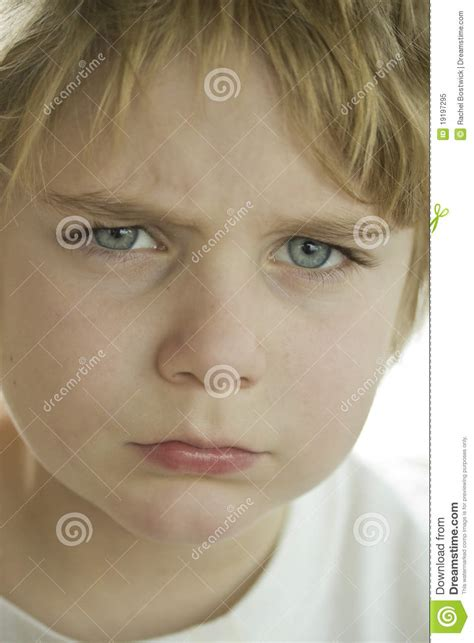 angry boy royalty free stock photo image 19197295