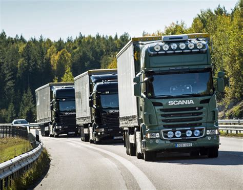scania truck orders increased in 2014 logistics
