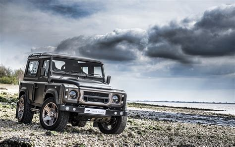 land rover defender wallpapers autocars wallpapers kahn land rover defender front view wallpaper car