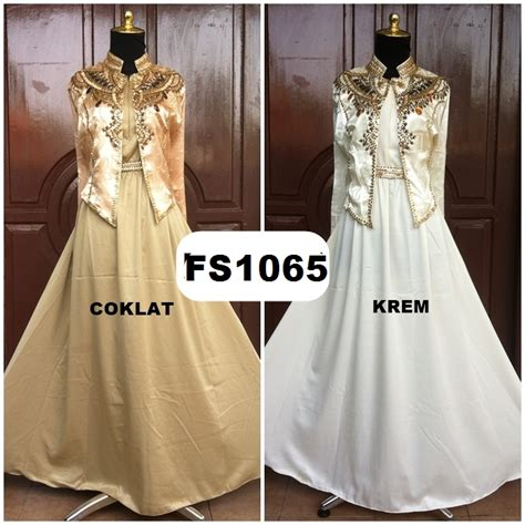 Fs 869 Baju Dress Wanita model baju brokat modern related keywords model baju brokat modern keywords keywordsking