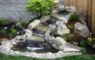 Small Garden Waterfall Ideas Small Garden Waterfalls Pictures Pool Design Ideas