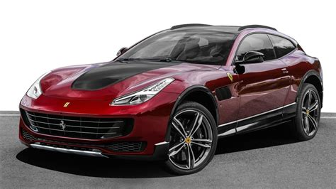ferrari off road ferrari gtc4lusso off road render motor1 com photos