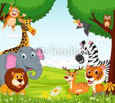 imagenes de animales de la selva garden fototapeta dla dzieci tanie tapety na ścianę do pokoju