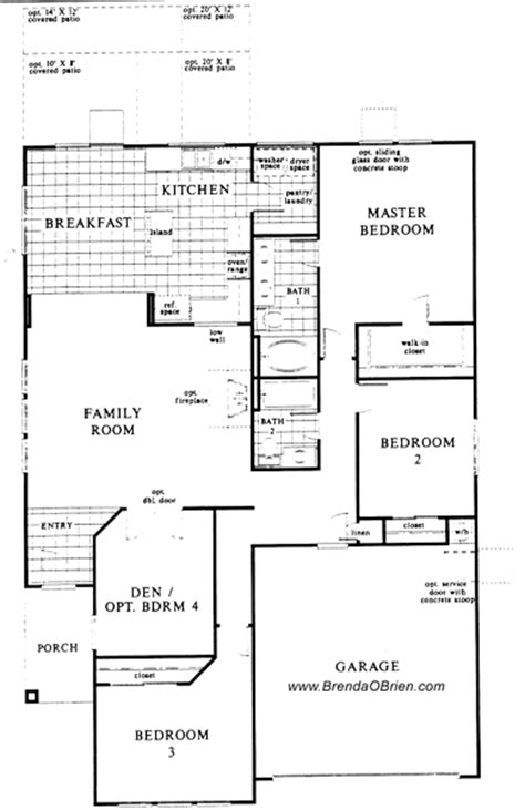 villages of la canada floor plan kb 2591 upstairs villages of la canada floor plan kb 1761