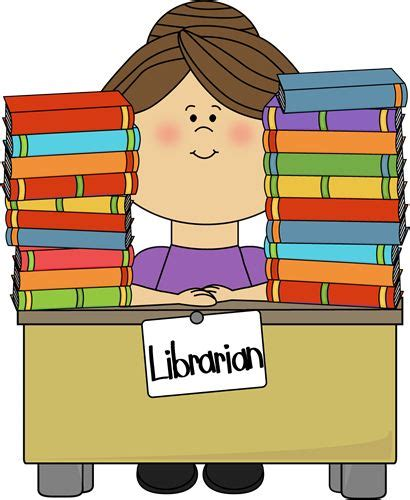 library clipart images library clip free clip image librarian sitting