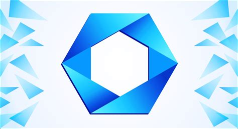 polygon logo design in corel draw youtube