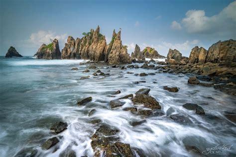pegadung beach bandar mataram indonesia kelumbayan