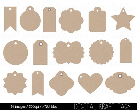 printable art tags label tag clipart 78
