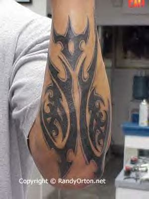 randy orton tribal tattoo randy orton s tattoos randy orton tatuajes que adoro