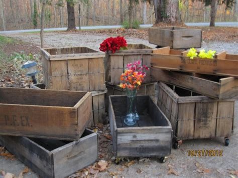 Wedding Box Orchards by Sale Planter Boxes Vintage Orchard Crates By