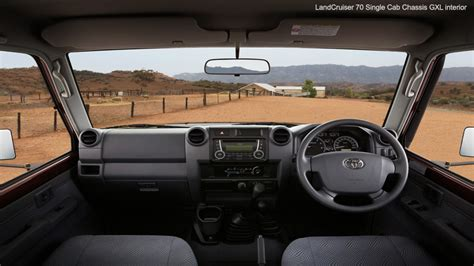 Land Cruiser 70 Interior by Toyota Landcruiser 70 Series Features
