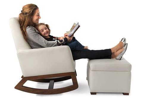 modern nursery rocking chair modern nursery joya rocking chair nursery furniture by