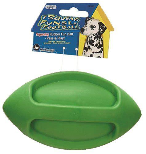 jw pet company isqueak funble football dog toy medium