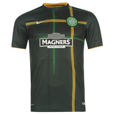 Celtic Away 20142015 nike celtic mens away jersey 2014 2015 green gold football soccer ebay