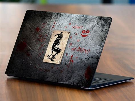 joker laptop sticker stickerimcom
