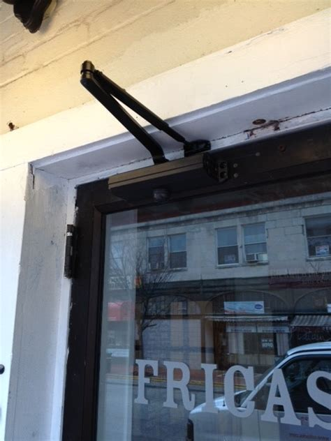 Restaurant Door Repair by Door Repair At Montclair Restaurant Christopher Dayan Security