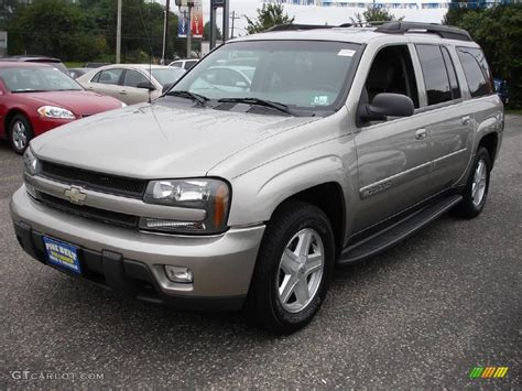 2003 chevy trailblazer lt 2003 light pewter metallic chevrolet trailblazer ext lt 4x4 16024916 gtcarlot com car color