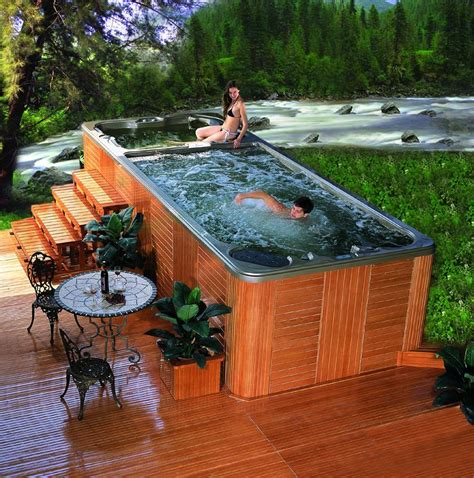backyard pools and spas pools swim spa bing images