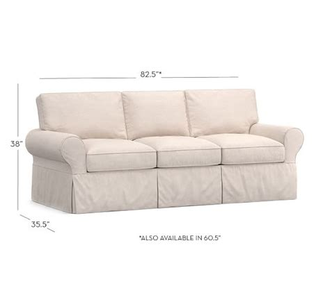 pottery barn basic sofa pb basic slipcovered sofa pottery barn