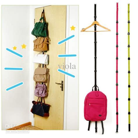 The Door Purse Rack by 16pcs Adjustable Bag Rack Door With Up Hook Hat