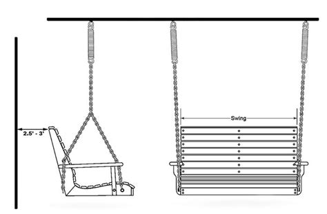 Size Porch Swing porch swing dimensions plans diy free planer kit woodworking tool stores