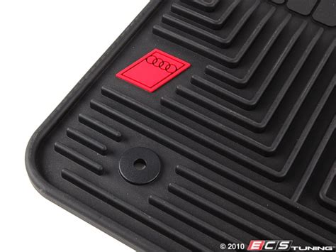 Audi All Weather Floor Mats by Ecs Tuning Genuine Audi All Weather Floor Mats