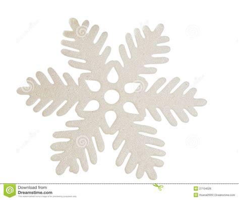 white snowflake isolated royalty free stock image image