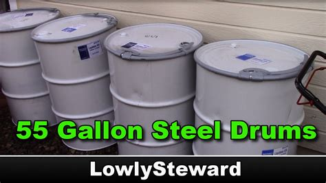 55 gallon drums for free uses for 55 gallon steel drums