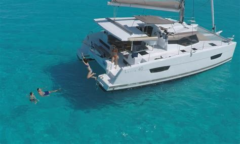 sailing catamaran under 30 feet catamaran sailboat lucia 40 fountaine pajot