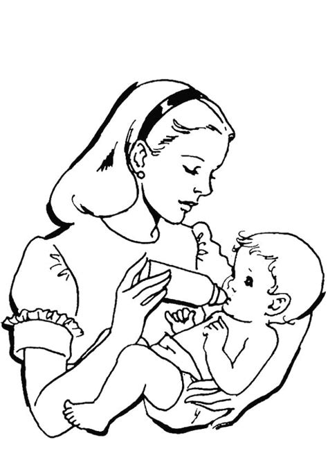 mothers day love holiday coloring pages free download