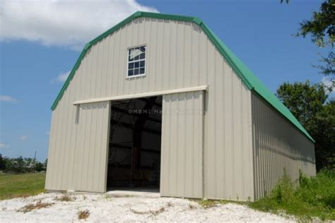 gambrel roof barn kits gambrel barn with steel sliding doors in fort fl customer testimonial