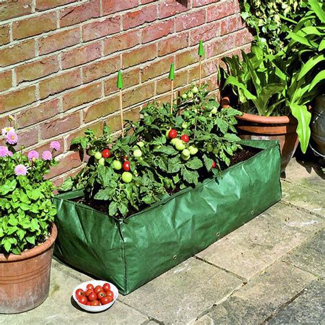 garland reusable grow bag planter tomato peas beans