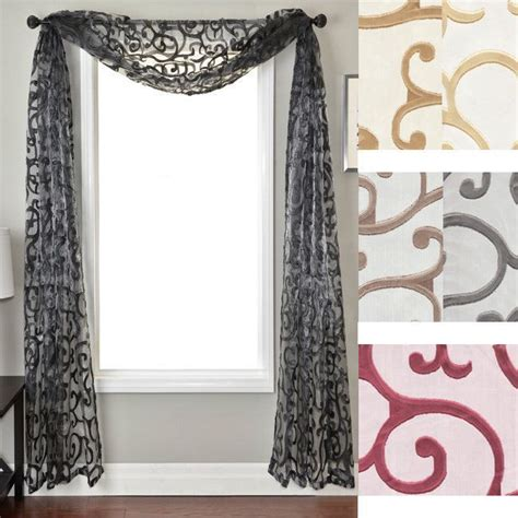 Scarf Valances For Windows 25 Best Ideas About Scarf Valance On Pinterest Window