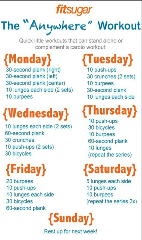 easy 20 day workout plan trusper