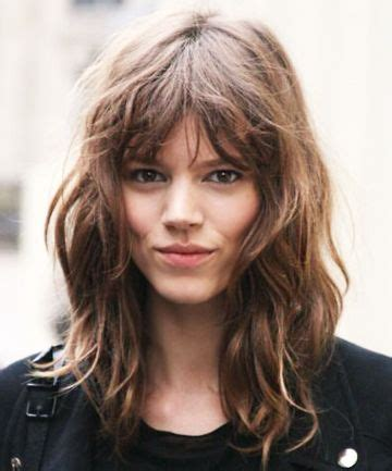 lob shag hairstyles the shag is the it girl hairstyle replacing the lob girl