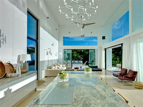 interior room design and architecture of caribbean indoor