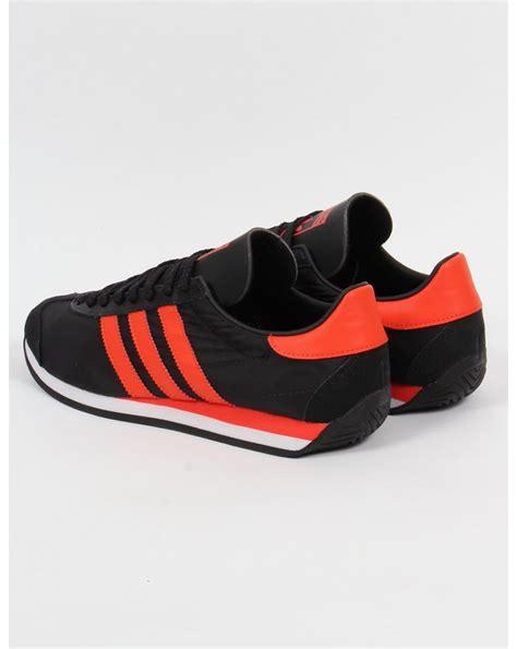 Adidas Orange Black adidas country og trainers black orange originals shoes