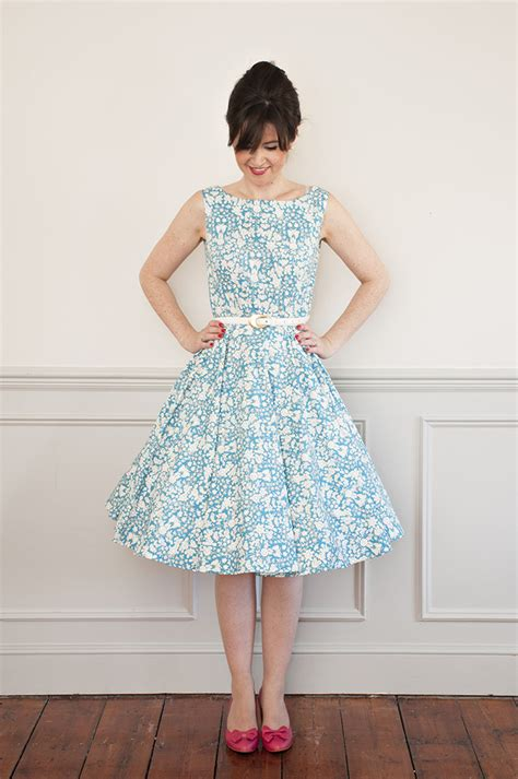 Dress With Pattern sew it betty dress sewing pattern sew it