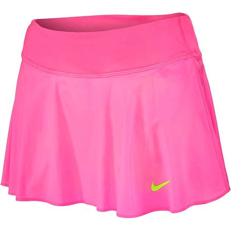 nike premier s tennis skirt pinkpow volt